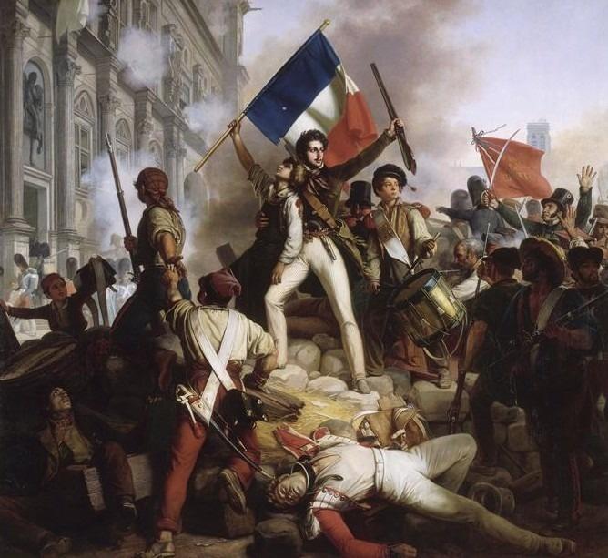 『1830年7月28日の市庁舎の戦い』ジーン・ビクター・シュネッツ