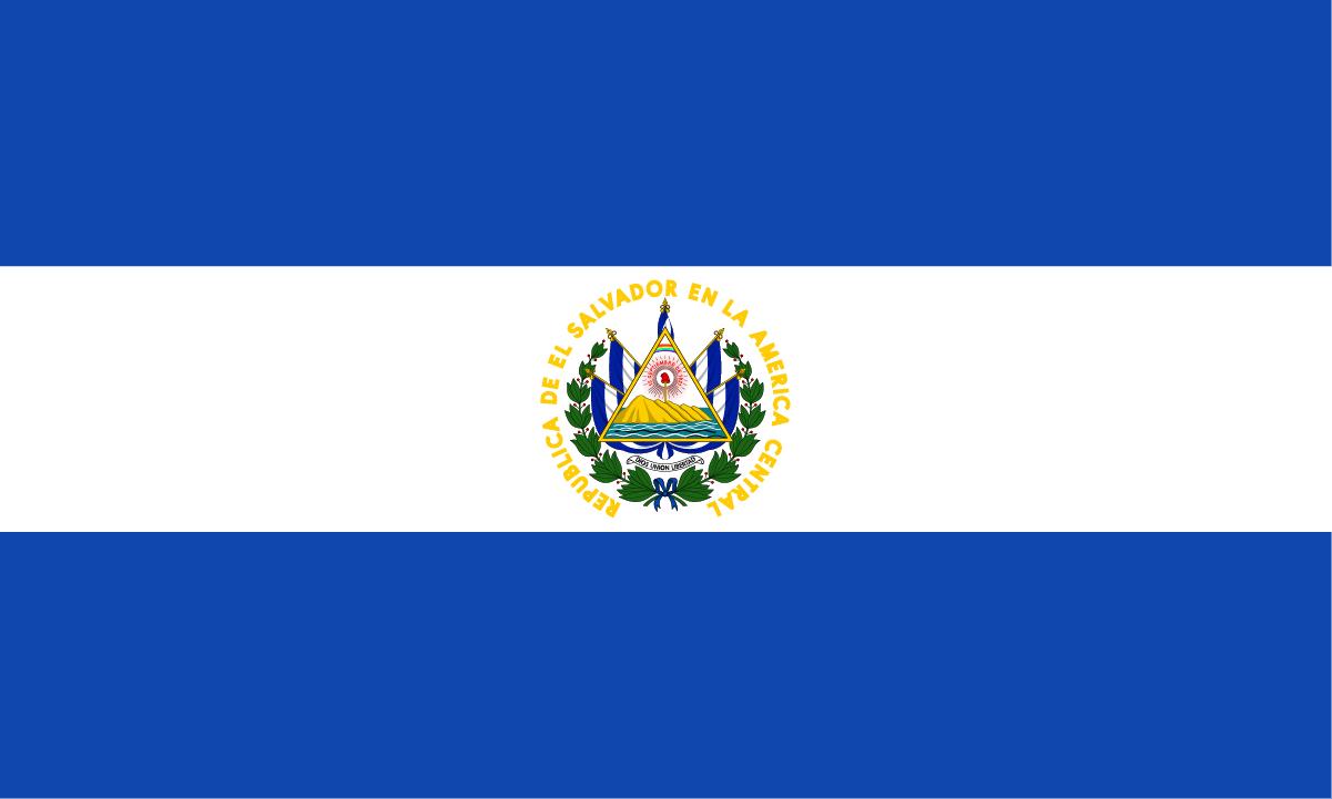 エルサルバドルの国旗 | 北アメリカ | 世界の国旗 - デザインから世界 ...